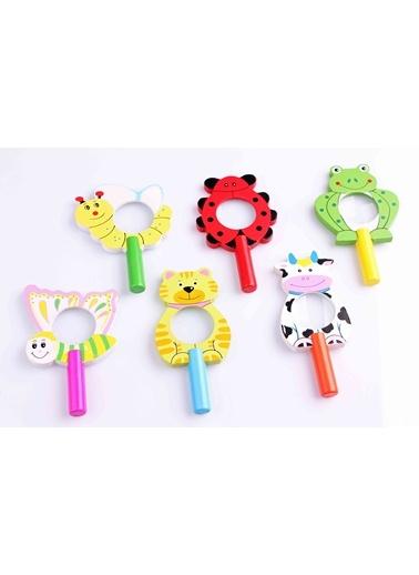3'lü Hayvan Figürlü Ahşap Büyüteç Seti-Learning Toys